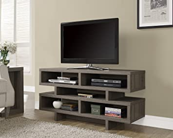 Premium Tv Stand for Flat Screens Entertainment Center Furniture Wood Console Screen 48