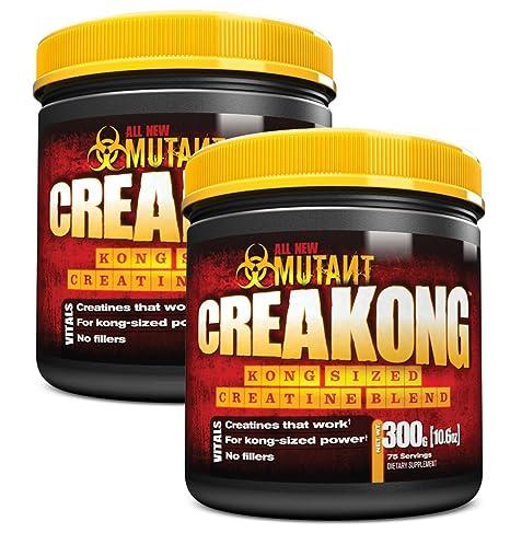 Mutant Creakong - 300g, 2er Pack (2 x 300 g) - Kreatin - Creatine