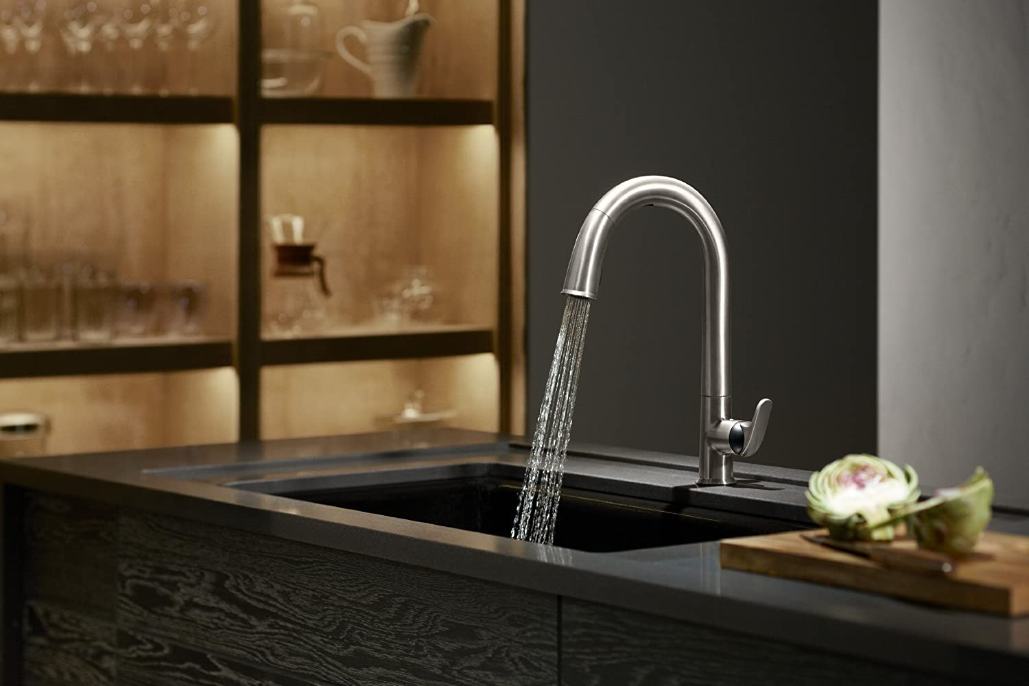 KOHLER K-72218 Sensate Touchless Kitchen Faucet
