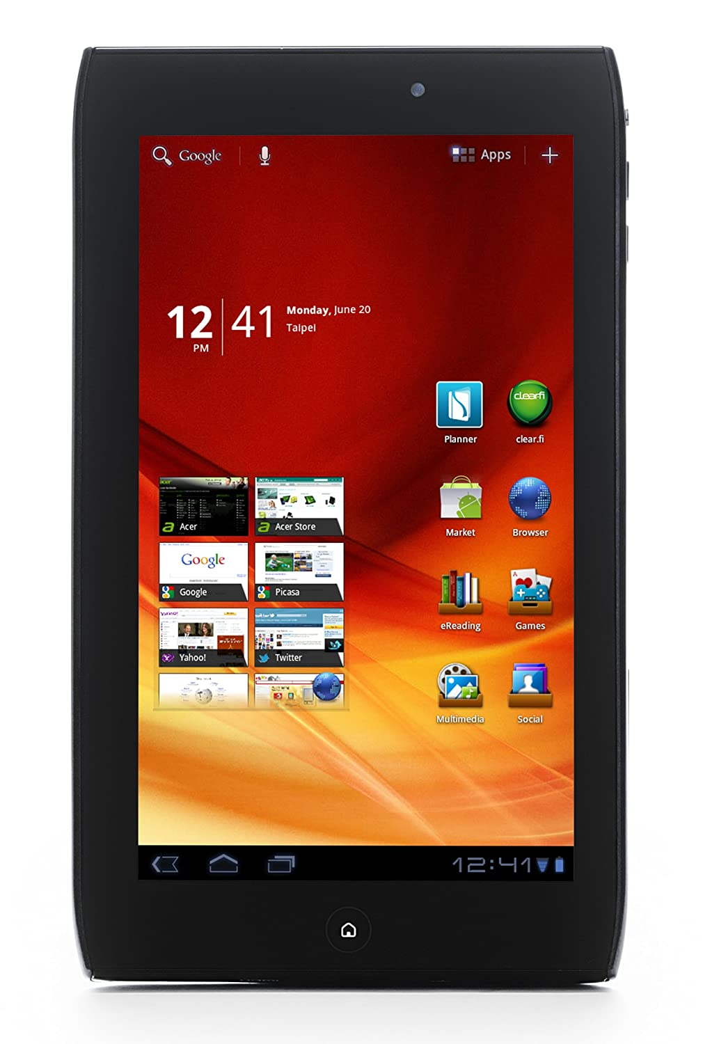 PC Tablet Acer Iconia Tab A200