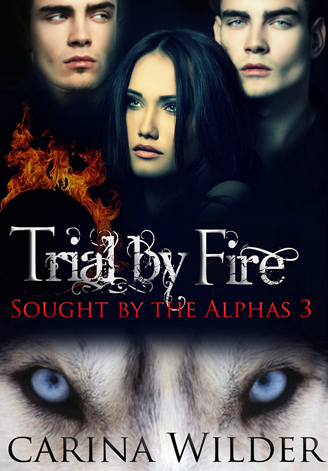Trial by Fire: A BBW Shifter Ménage Serial (Sought by the Alphas Book 3)