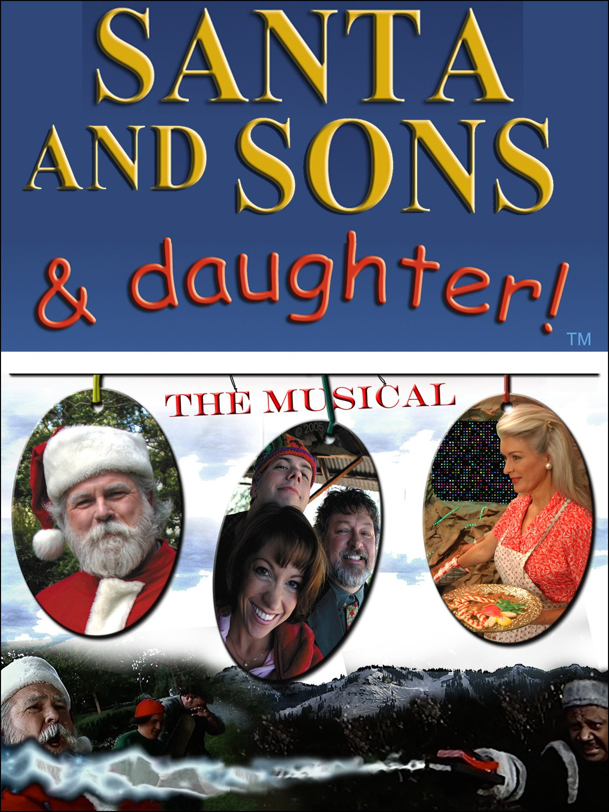 Santa and Sons and Daughter