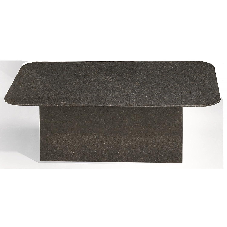 Studio 20 Gartentisch Outdoortisch Granittisch Etna rechteckig 145 x 90 x 75 cm Tischplatte Pearl black satiniert günstig