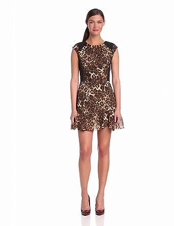Heartloom Women's Chloe Dress, Leopard, X-Small