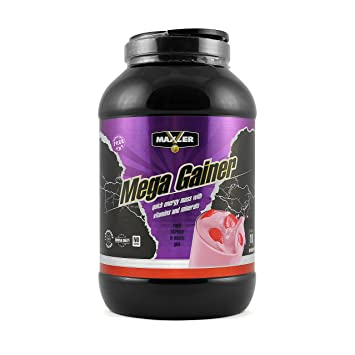 Maxler Mega Gainer Strawberry 4540 g can