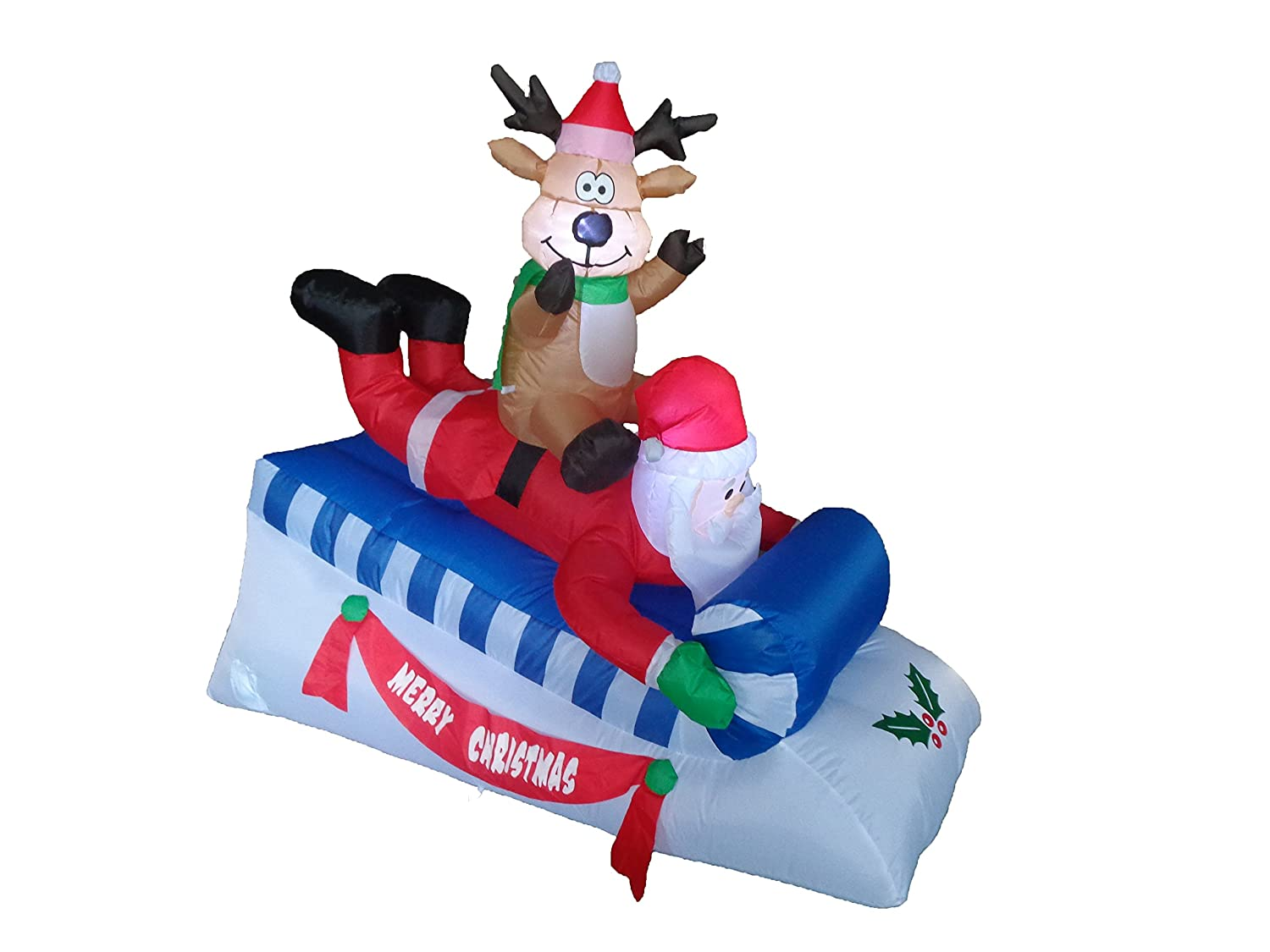 Santa Claus Outdoor Inflatables Page Two
