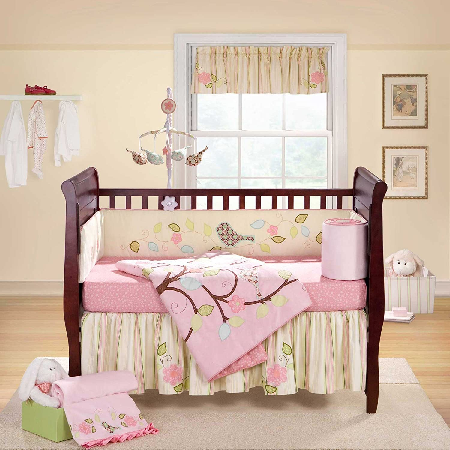 Amazoncom: girl crib bedding: Baby
