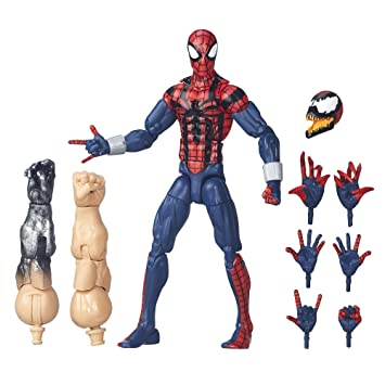 Marvel Legends Series: Edge of Spider-Verse: Ben Reilly Spider-Man Figurine