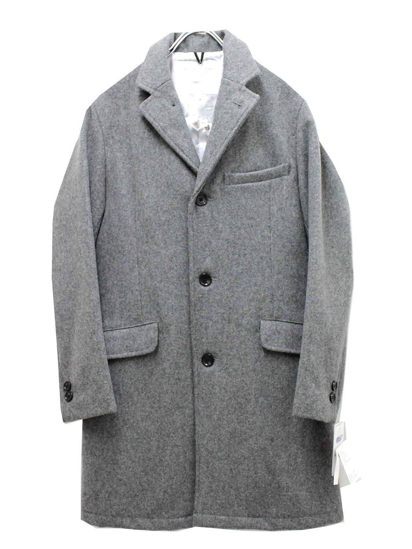 Amazon.co.jp: フィデリティ FIDELITY チェスターコート 24oz TAILORED COAT stripe lining【mid grey】 (M): 服&ファッション小物通販