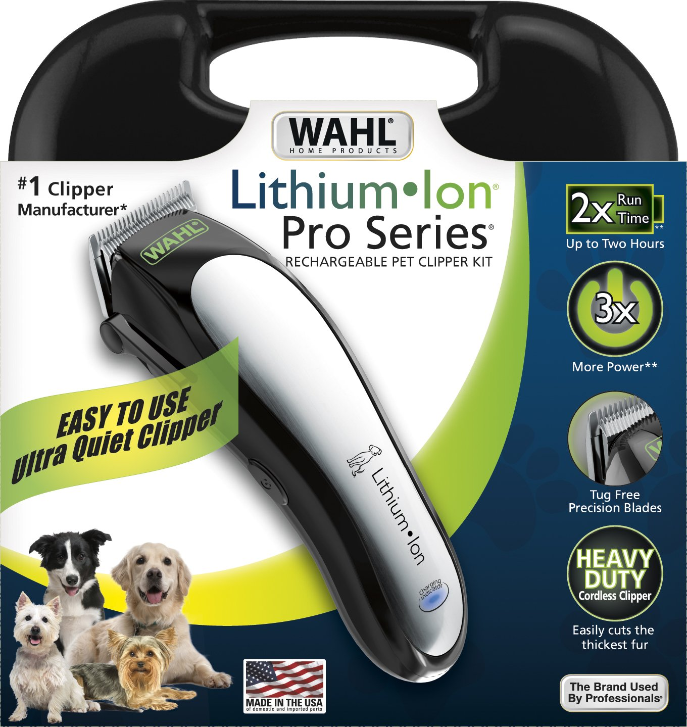 Wahl 9766 dog clipper review