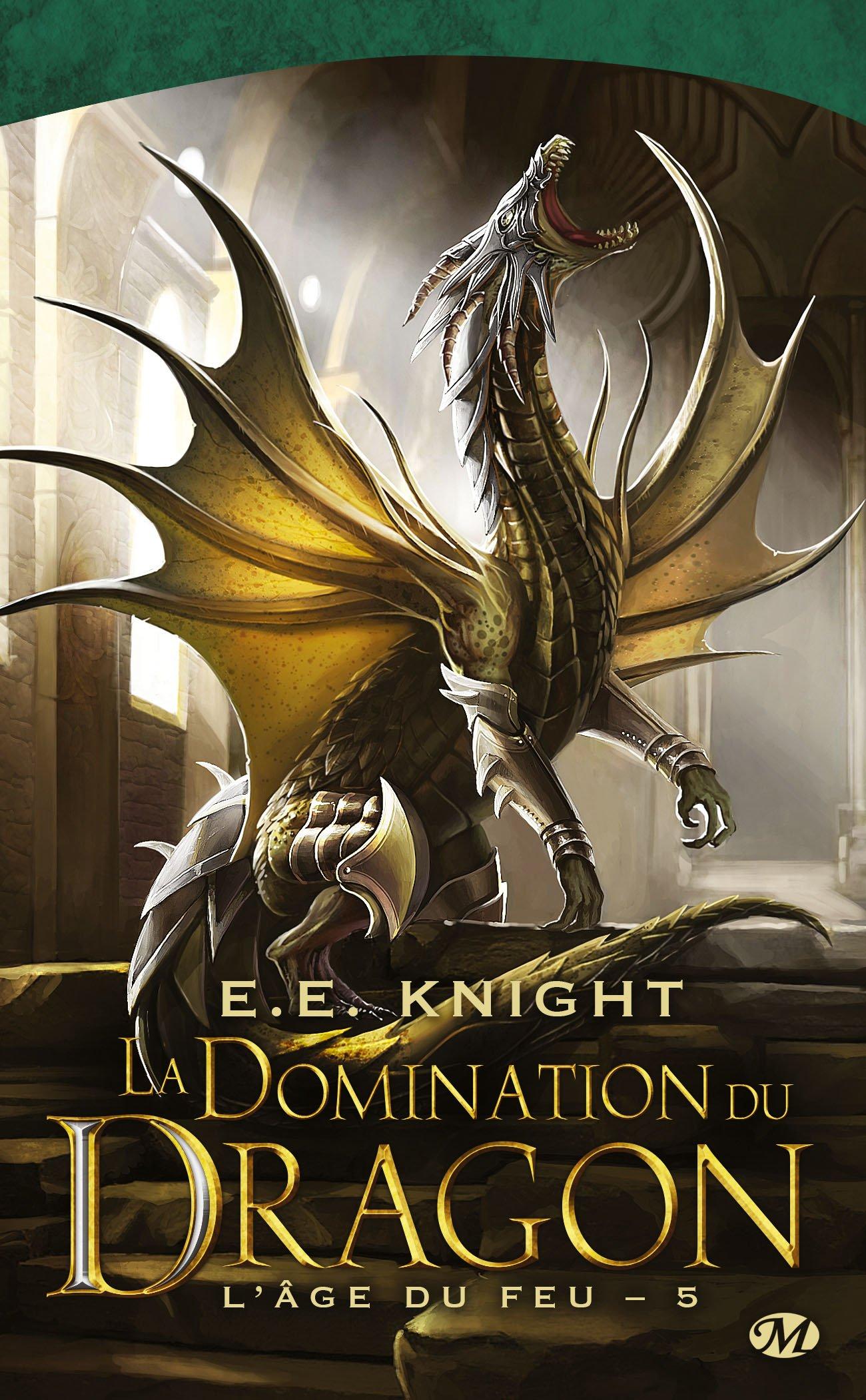 L'Âge du feu, Tome 5 : La domination du dragon 81lbXpxhKmL