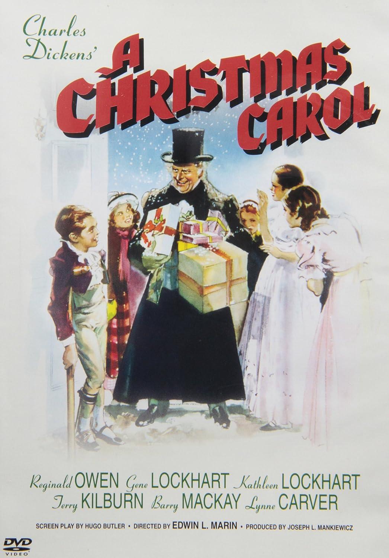 "Brand NEW DVD ""A Christmas Carol"" 1938 Version OF Charles Dickens Scrooge Movie   eBay"