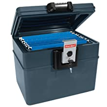 2037F Fire and Water File Chest