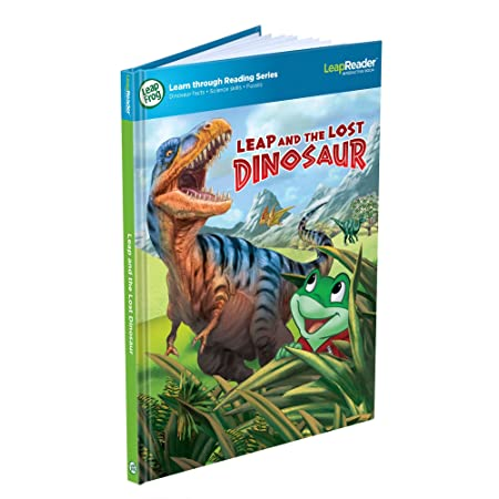 LeapFrog – Tag Junior – Livre Leap and the Lost Dinosaur – Version Anglaise (Import Royaume Uni)