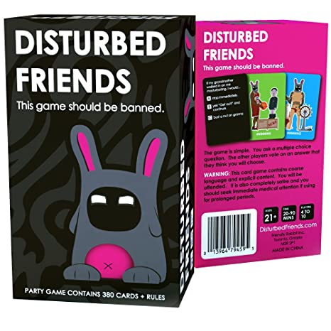 Disturbed Friends - This game should be banned. by Friendly Rabbit