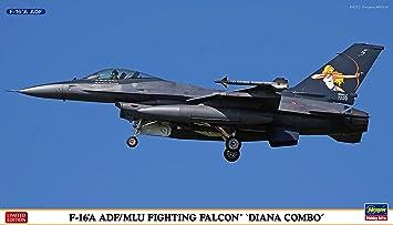 Hasegawa 1: 72échelle F-16A ADF/mlU Fighting Falcon Diana Combo Kit