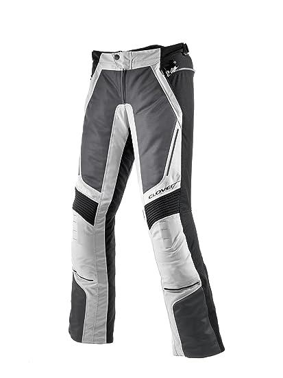 Clover 99137214_ 54VENTOU Bague Moto Pantalon Homme Noir/Blanc Taille W: 37
