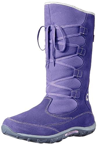 Merrell Jungle Moc Boot WTPF Waterproof Boot (Toddler/Little Kid/Big