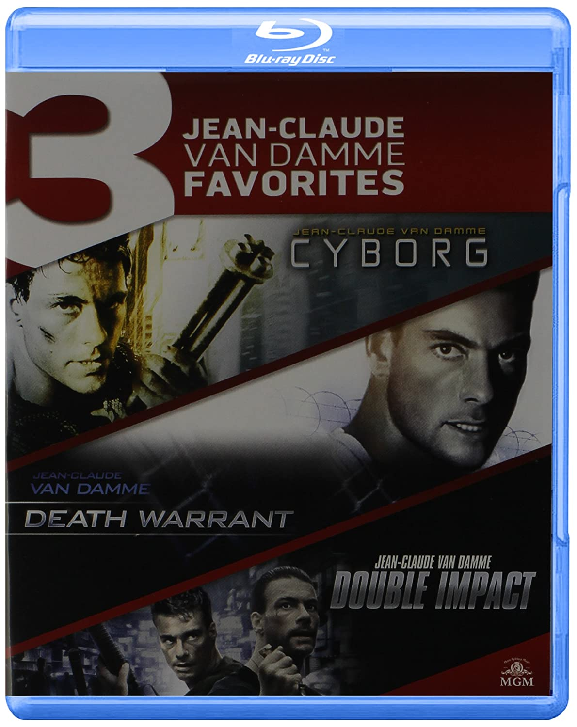 Cyborg / Death Warrant / Double Impact Triple [Blu-ray] accept accept blind rage limited edition cd blu ray dvd 2 lp