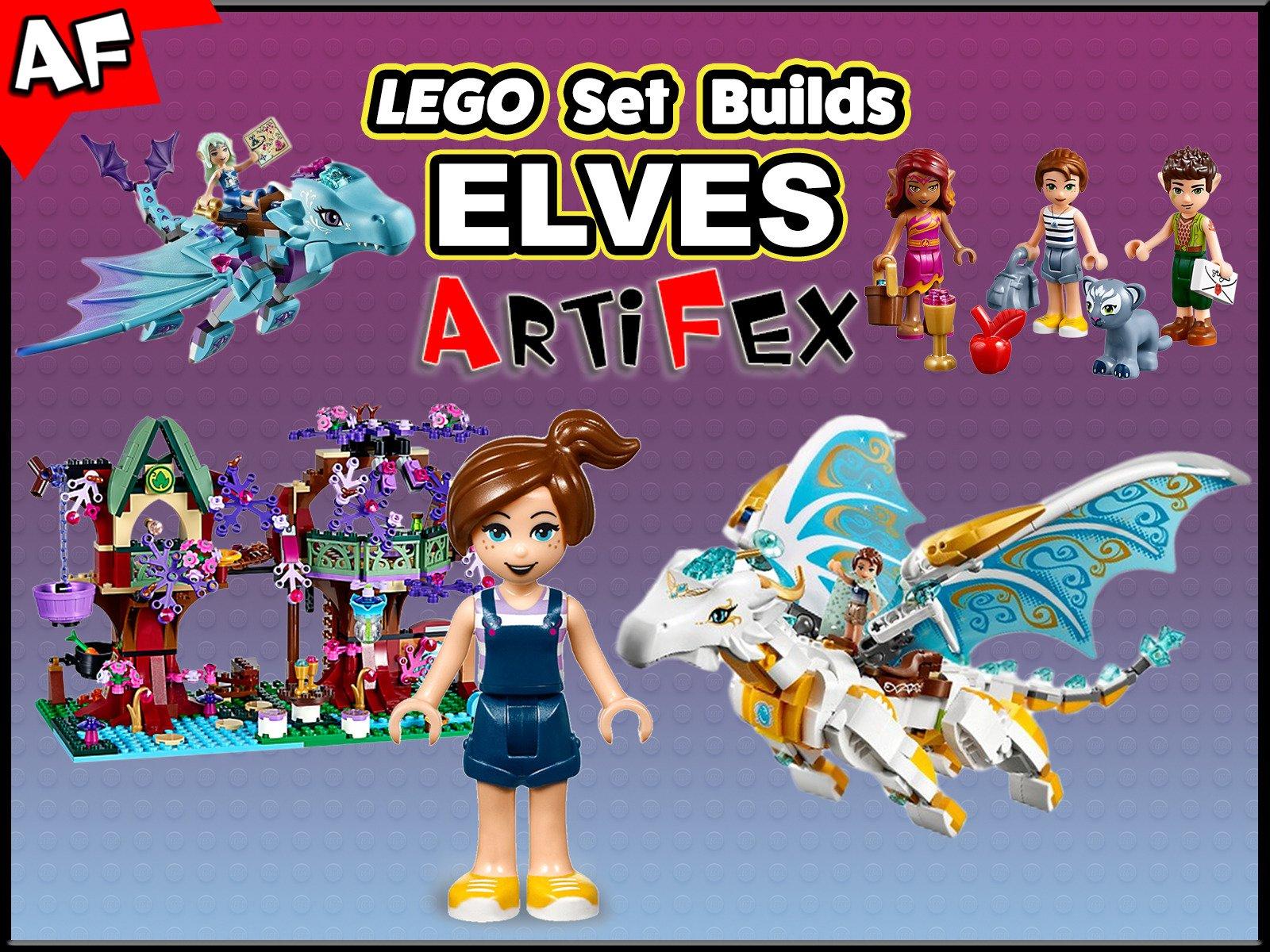 Clip: Lego Set Builds Elves - Season 1