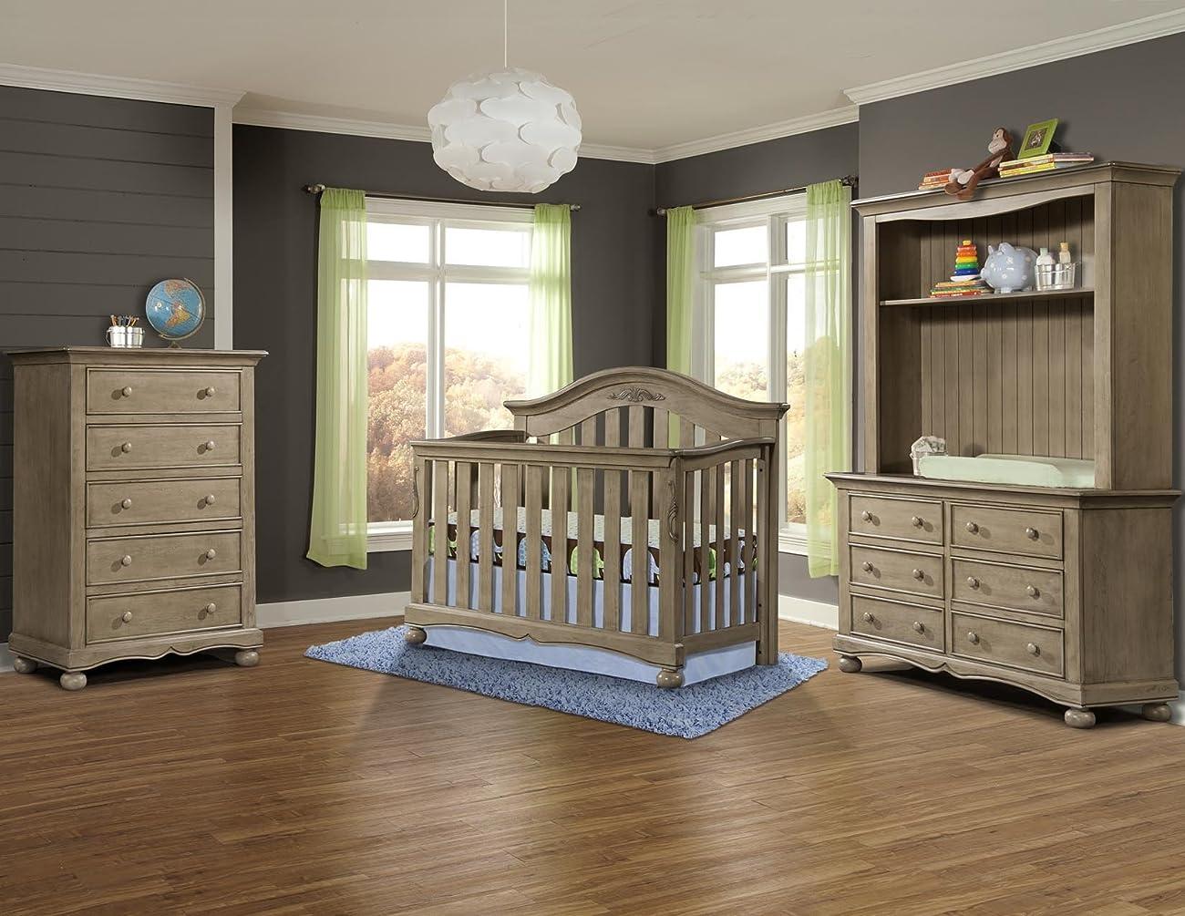 Westwood Design Meadowdale 4-in-1 Convertible Crib, Vintage 1