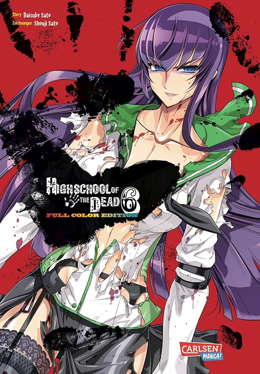 Highschool of the Dead Full Color Edition, Band 6