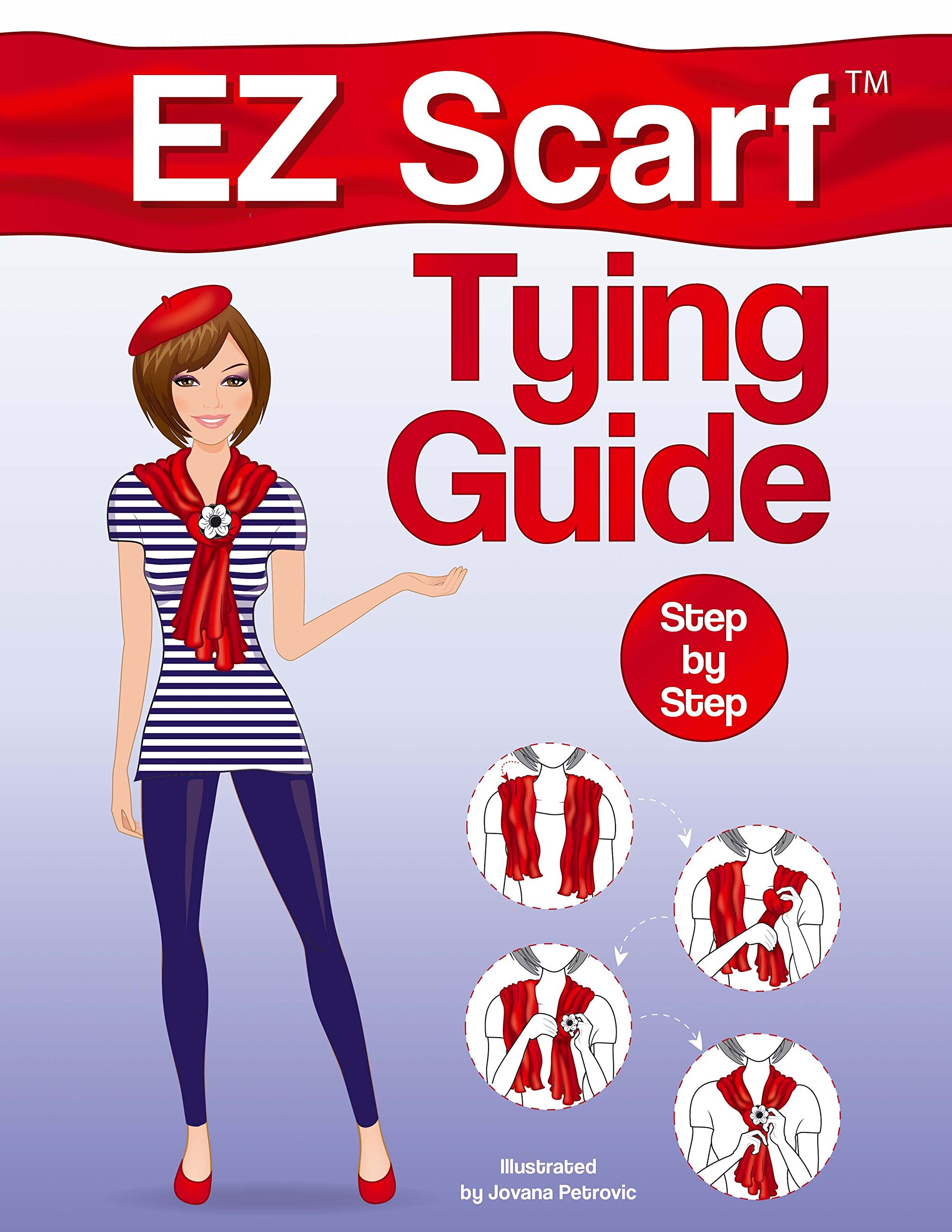 Fabulous Fashions Of The 1980s Hardcover EZ Scarf Tying Guide