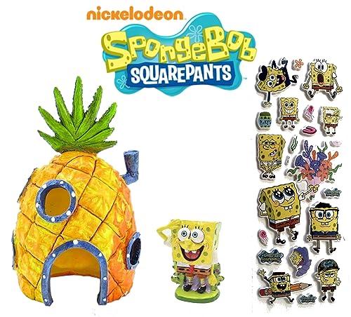 SpongeBob SquarePants Bikini Bottom Aquarium Ornaments