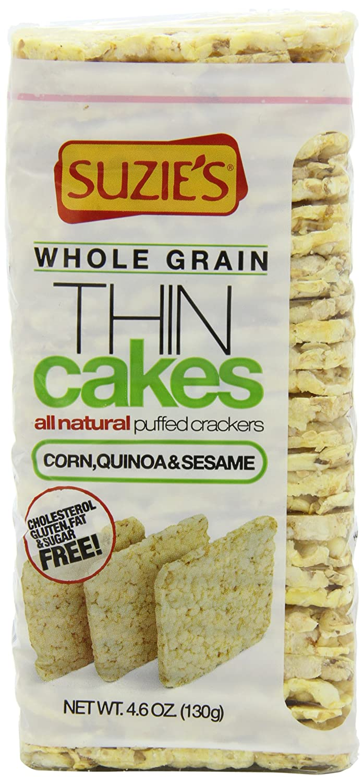 Suzie S Thin Cakes Corn Quinoa And Sesame