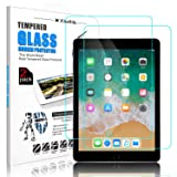 [ 2 Pack ] DONWELL iPad 9.7 2018 Screen Protector Bubble Free Anti Scratch Tempered Glass Protective Cover Compatible with iPad 5 5th/6 6th Generation/iPad Pro 9.7 Model A1823 A1822 9.7 inch (Color: 2 Pack)