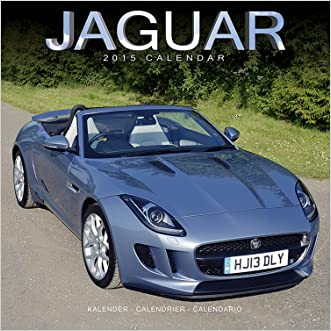 Jaguar Calendar- 2015 Wall calendars - Car Calendar - Automobile Calendar - Monthly Wall Calendar by Avonside