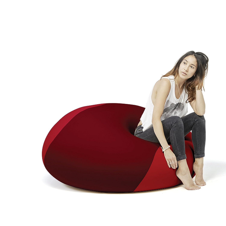 """Ollie"", Multifunktionaler Therapie Sitzsack, Ergonomisch, 100x100x80 cm (Bordeaux/Rot) kaufen"