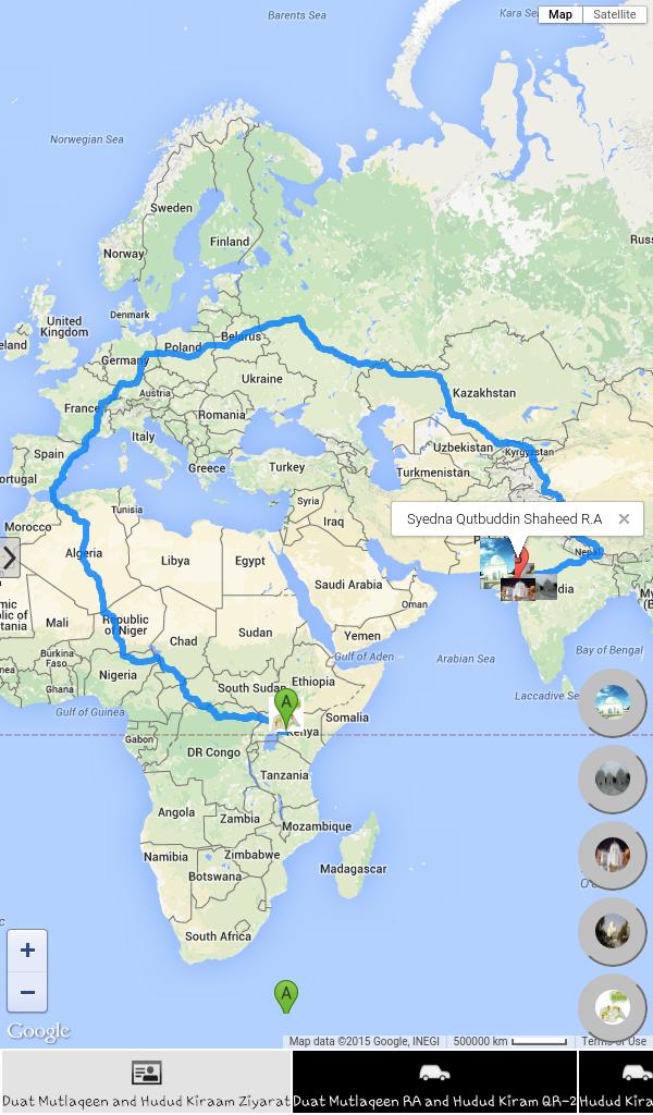 ziyarat map