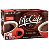 MCCAFE Premium Roast Coffee, K-CUP PODS, 84 Count (Color: Brown, Tamaño: 84 count)