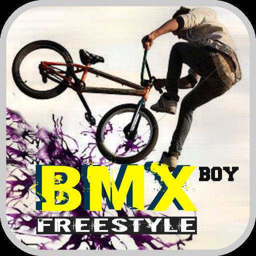 BMX Freestyle Boy