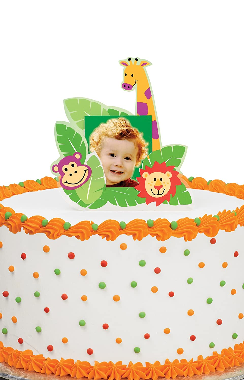 Boy jungle baby shower cake decorations baby shower mania - Wilton baby shower cake toppers ...