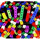 Childcraft Linking Cube Set, 3/4 Inches, Assorted Colors, Set of 100