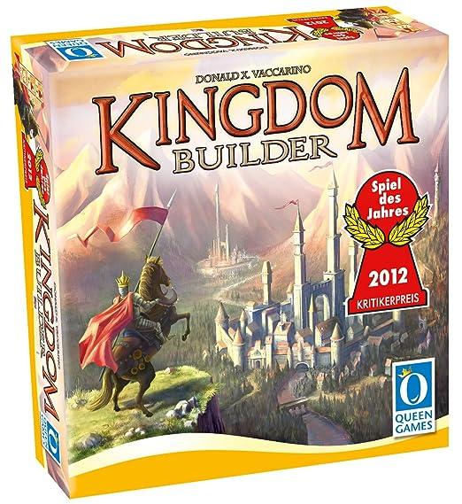 Asmodee - Qgkb01 - Jeu De Plateau - Kingdom Builder