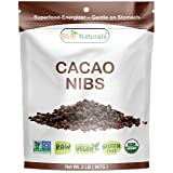 Best Naturals USDA Certified Organic Cacao Nibs 2 Pound - Non-GMO Project Verified (Tamaño: 32 Ounces)