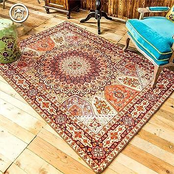 Uncle Sam LI- Moda étnica personalidad creativa alfombra de la sala Mesa de centro moderna ( Tamaño : 140CM×200CM )