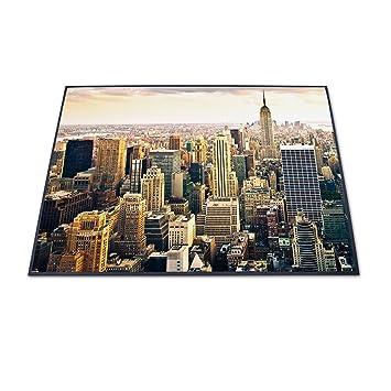 98490d41829d Ausgefallene Design Fußmatte von banjado mit Motiv New York City - de2