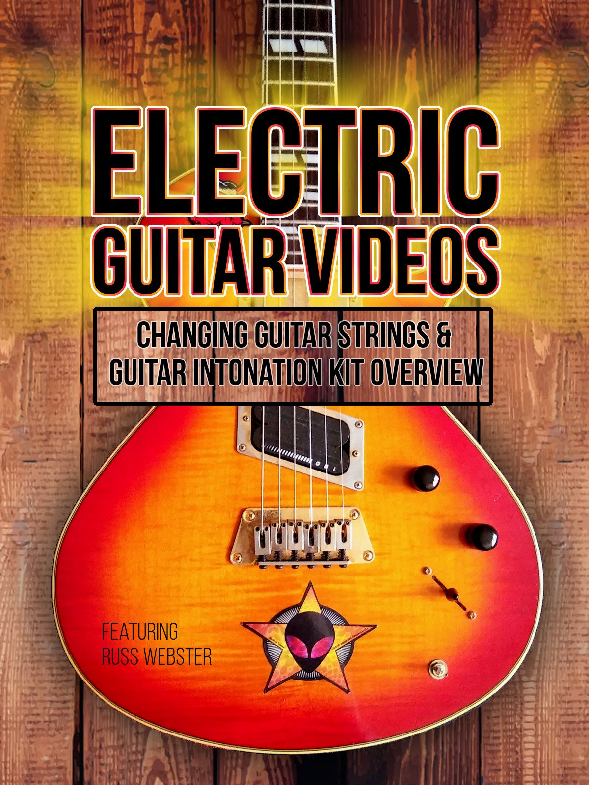 Electric Guitar Videos: Changing Guitar Strings & Guitar Intonation Kit Overview on Amazon Prime Video UK