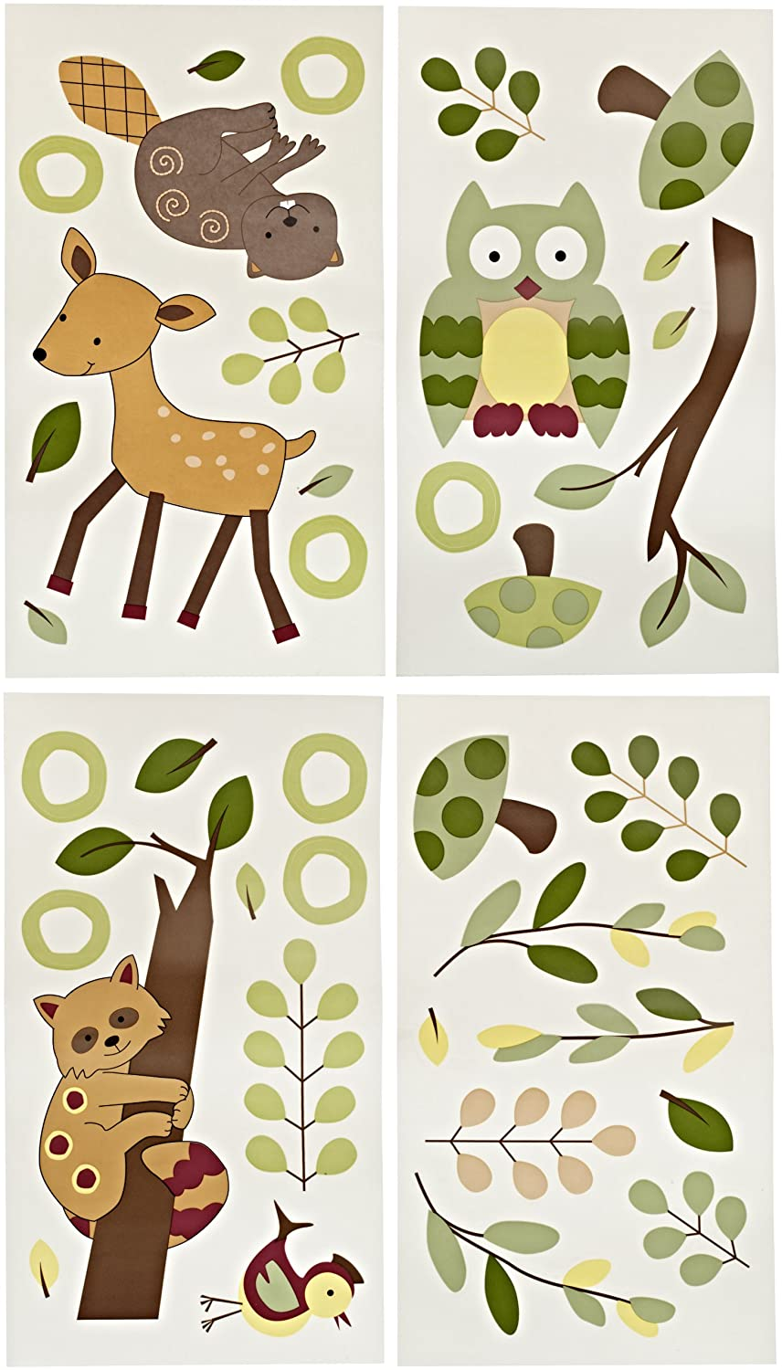 Lambs and Ivy Enchanted Forest Wall Appliques