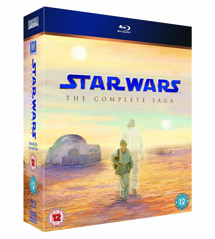 bluray movie star wars the complete saga all regions ebay
