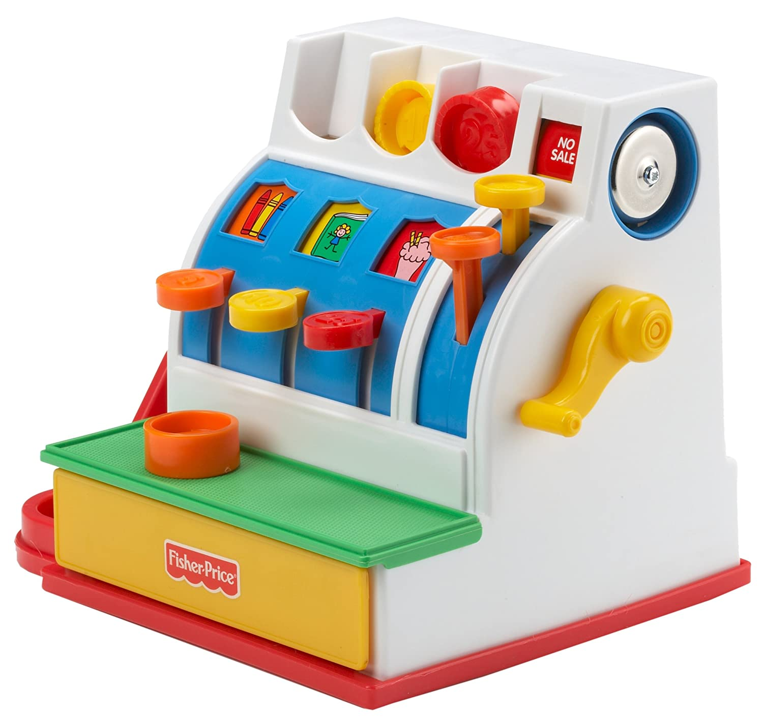 39 retro 39 fisher price cash register sold by avides and fulfilled by amazon hotukdeals. Black Bedroom Furniture Sets. Home Design Ideas