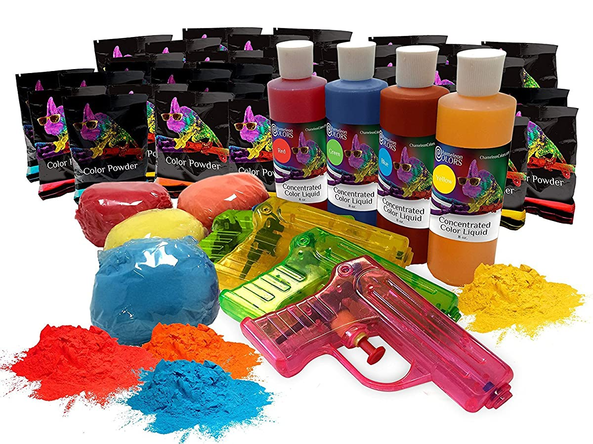Color Powder Party Box