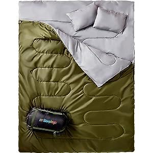 best sleeping bag width=