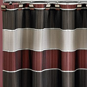 Styles 2014 Burgundy Shower Curtain