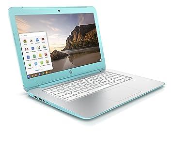 """HP Chromebook 14-x095nf PC portable 14"""" Turquoise (Nvidia Tegra, 2 Go de RAM, 16 Go de SSD, Chrome OS)"""