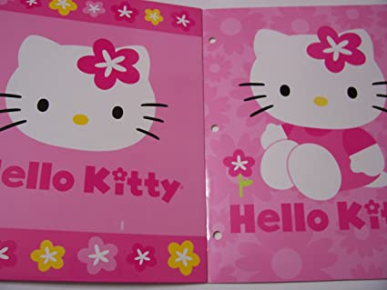 Folders de Hello Kitty Hello Kitty 2 Folder Set